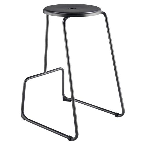 Napa Metal Counter Stool, Metallic Gunmetal