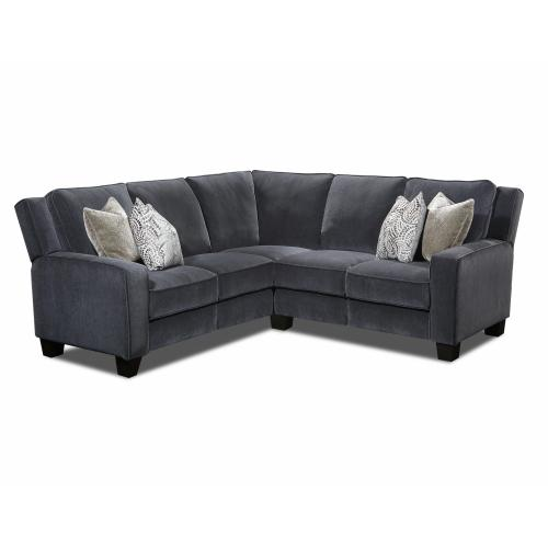 Power Headrest LAF Loveseat with Pillows