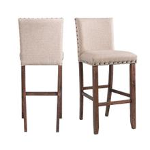 "Jax 30"" Upholstered Bar Stool Set"