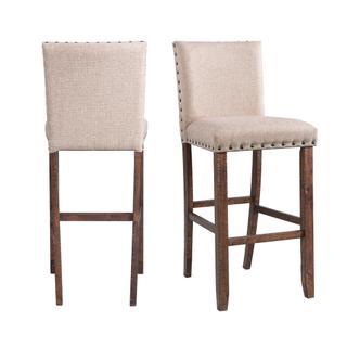 """See Details - Jax 30"""" Upholstered Bar Stool Set"""