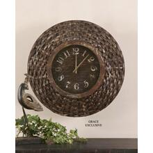Woven Birch Bark, Clock