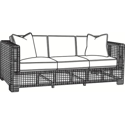 Braxton Culler Inc - Central Park 3 over 3 Sofa
