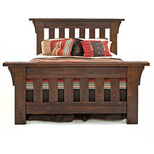 Oak Haven Bed - California King Headboard Only