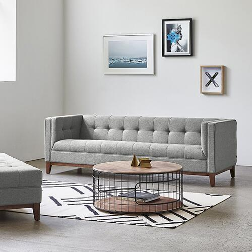 Atwood Sofa Leaside Driftwood / Walnut