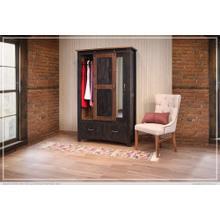 View Product - 2 Drawer, 1 Sliding door, 1 Door Armoire
