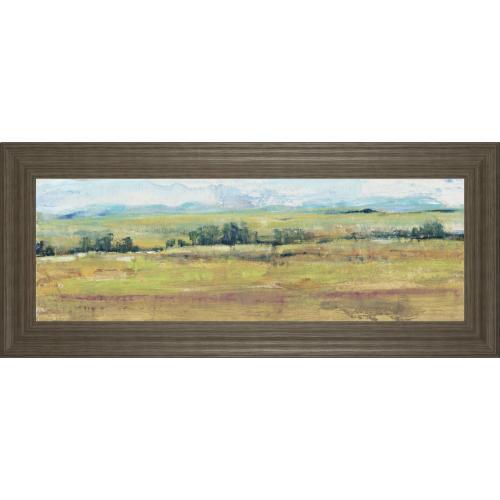 """Distant Treeline Panel II"" By Tim Otoole Framed Print Wall Art"