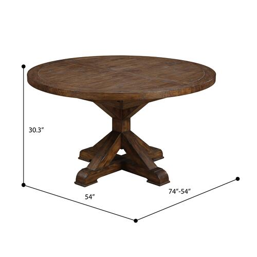 Emerald Home Furnishings - Round Extension Dining Table