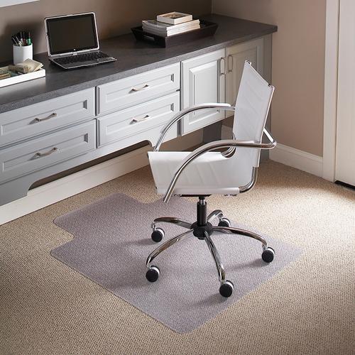 Flash Furniture - 45'' x 53'' Carpet Chair Mat with Lip
