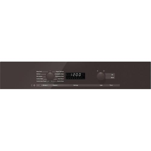 Miele - H 6200 BM 24 Inch Speed Oven With electronic clock/timer and combination modes for quick, perfect results.