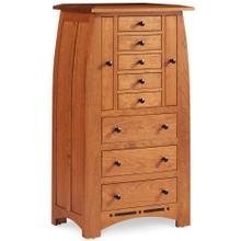 View Product - Aspen Jewelry Armoire with Inlay