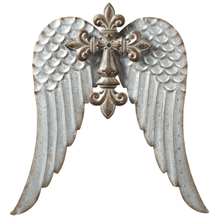 Large Cross with Wings