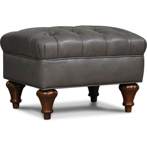 6F07AL Brenton Leather Ottoman