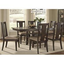 View Product - 7 Piece Pedestal Table Set