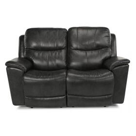 Cade Power Reclining Loveseat with Power Headrests