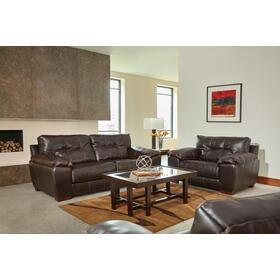 Hudson Sofa & Loveseat Chocolate