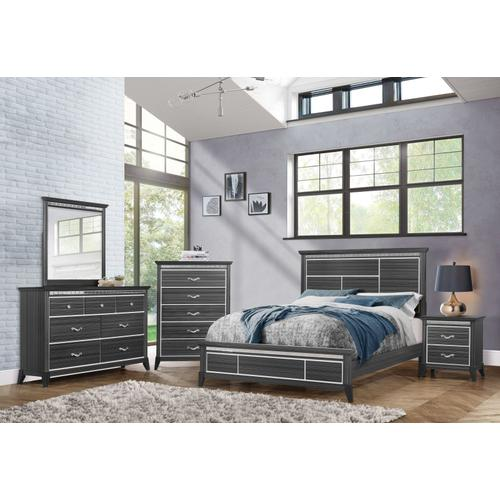 Anaheim 7-Drawer Dresser, Black
