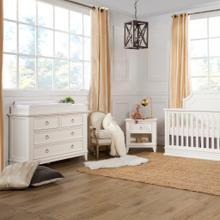See Details - Warm White Emma Regency 4-Drawer Assembled Dresser