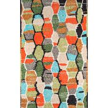 Bungalow Tiles Bun-03 Multi - 3.6 x 5.6