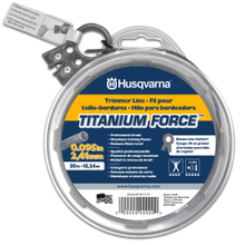 "Titanium Force Trimmer Line .095"" x 140'"