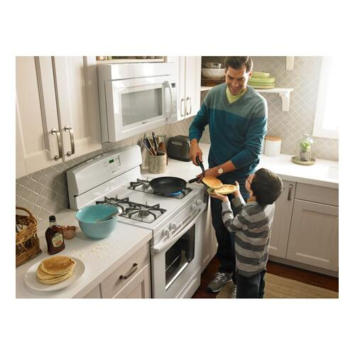 Amana Canada - Amana® 5.0 cu. ft. Gas Oven Range with Easy Touch Electronic Controls