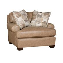 See Details - Henson Fabric Chair & 1/2