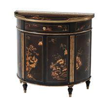 Willow Side Decorative Chest - Chocolate Chinoiserie