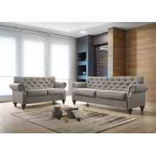 9108 2PC Classic Tufted Living Room SET