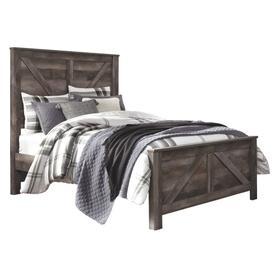 See Details - Wynnlow Queen Crossbuck Panel Bed