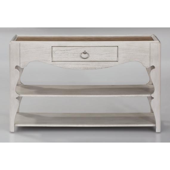 Flexsteel - Miramar Scroll-Leg Sofa Table