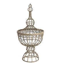 Finial Wire Basket