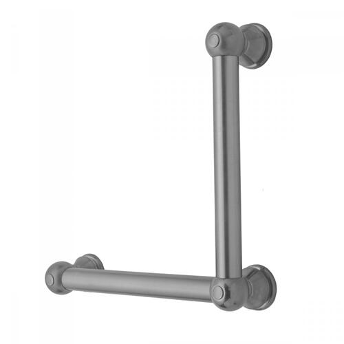 Polished Brass - G30 16H x 24W 90° Left Hand Grab Bar