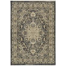 "Titanium Regency Charcoal 2' 1""x7' 10"" Runner"