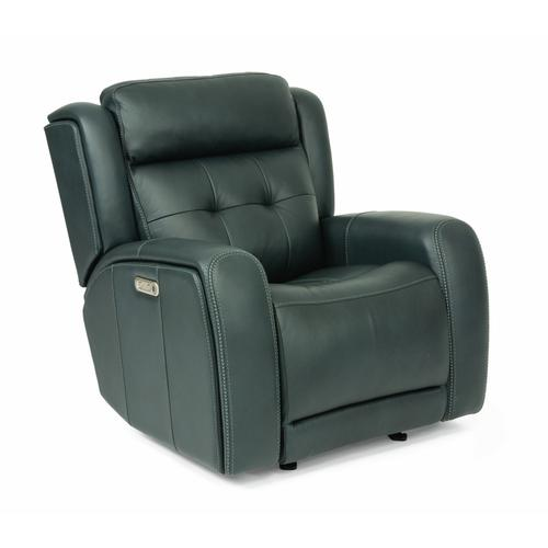 - Grant Power Gliding Recliner with Power Headrest