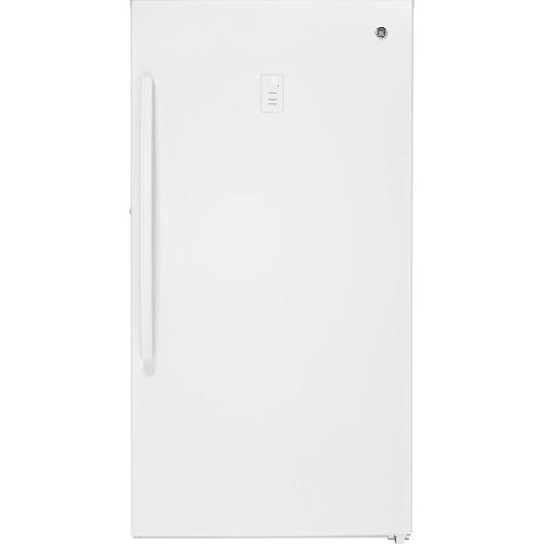 GE 17.3 Cu. Ft. Frost-Free Upright Freezer - FUF17SMRWW