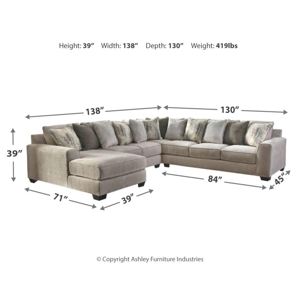 Product Image - Ardsley 4-piece Sectional With Chaise