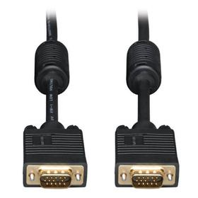 VGA High-Resolution RGB Coaxial Cable (HD15 M/M)), 15 ft.