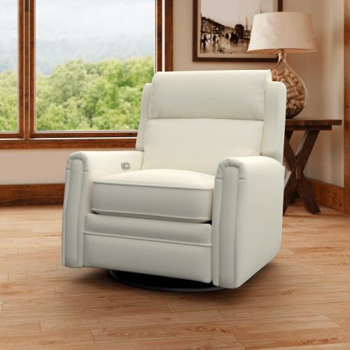 Comfort Designs - Camelot Power Reclining Swivel Chair C737/PRSWV