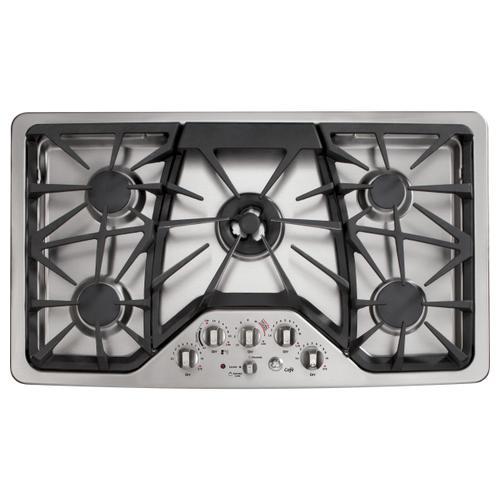"**FLOOR MODEL** GE Cafe™ Series 36"" Built-In Gas Cooktop"