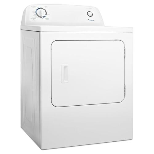 Amana Canada - Amana® 6.5 cu. ft. Top-Load Gas Dryer with Automatic Dryness Control