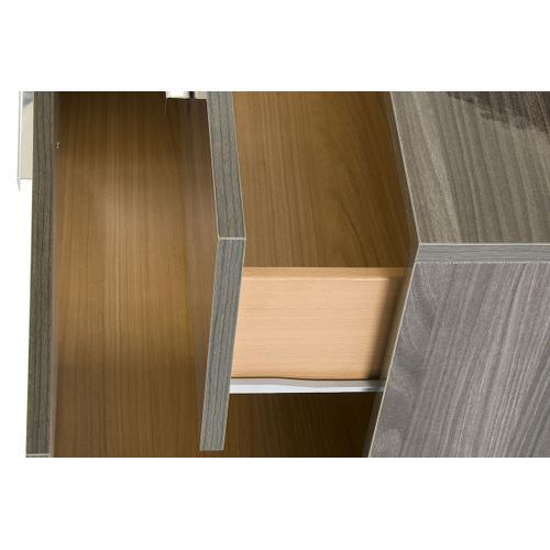 Nova Domus Capulet Italian Modern Grey Dresser