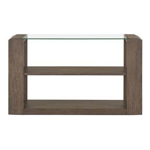 Gallery - Sonata Brown Console Table