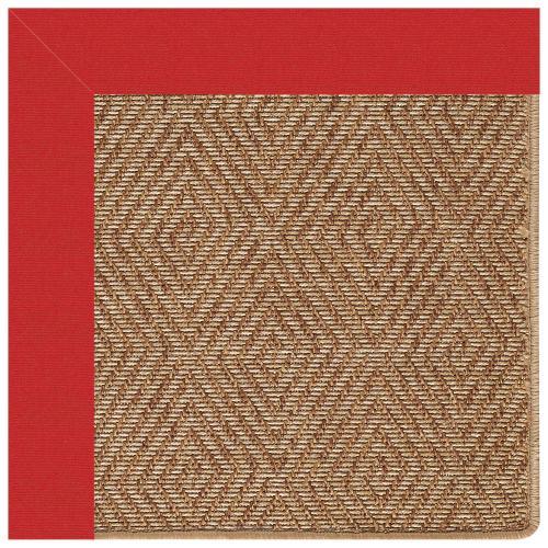 "Capel Rugs - Islamorada-Diamond Canvas Jockey Red - Rectangle - 24"" x 36"""