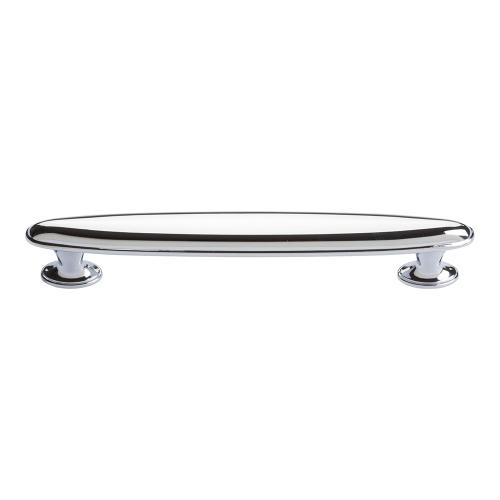 Austen Oval Pull 5 1/16 Inch (c-c) - Polished Chrome