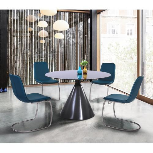 Armen Living Brittany Contemporary Dining Chair