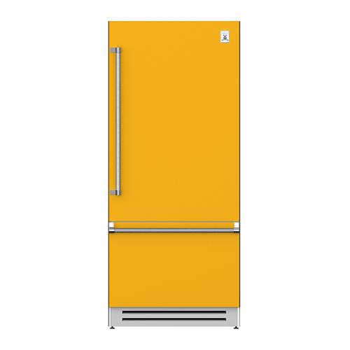 "Hestan - 36"" Bottom Mount, Bottom Compressor Refrigerator - KRB Series - Sol"