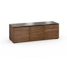 See Details - Denver 237, Triple-Width AV Cabinet, Textured Medium Walnut