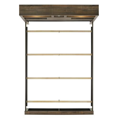 Bailey Queen Bookcase Panel Bed with Bluetooth