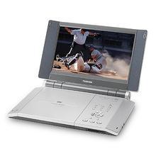 """8.9"""" Diagonal Widescreen Portable DVD-Video Player"""
