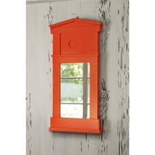 See Details - Pediment Mirror - Orange