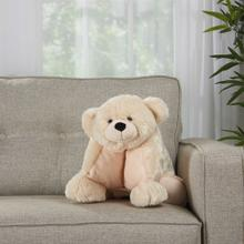 "Plushlines N0582 Ivory 1'6"" X 1'10"" Plush Animal"